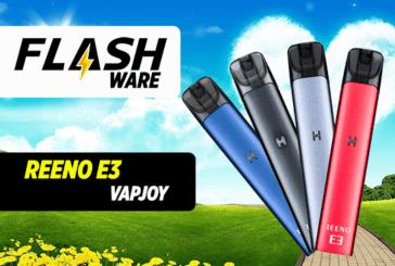 FLASHWARE: Reeno E3 Pod (VapJoy)
