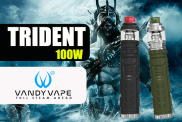 INFO BATCH : Trident 100W Waterproof (Vandy Vape)