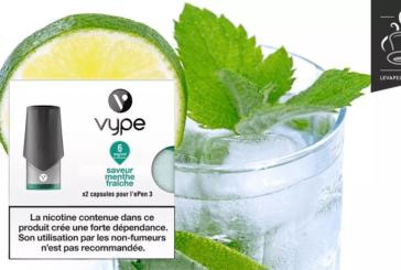 REVUE / TEST : Menthe Fraiche par Vype