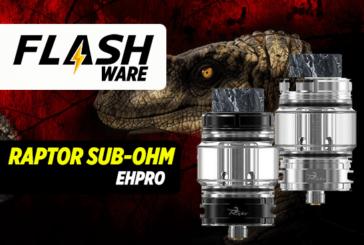 FLASHWARE: Raptor Sub-Ohm טנק (Ehpro)