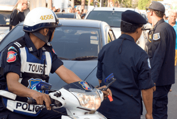 THAILAND: Police try to extort a senior's son for e-cigarette sale