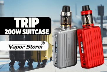 INFO BATCH : Trip 200W Suitcase TC (Vapor Storm)