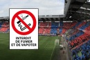 SPORT: Het Michel d'Ornano-stadion van SM Caen wordt rookvrij en rookt niet!