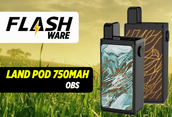 FLASHWARE : Land Pod 750mAh (OBS)