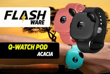 FLASHWARE : Q-Watch Pod (Acacia)