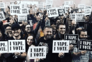 "ESTADOS UNIDOS: ""We Vape, We Vote"", ¡cuando los vapers amenazan la política!"