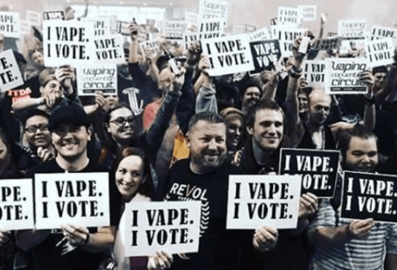 "UNITED STATES: ""We Vape, We Vote"", when the vapers threaten politics!"