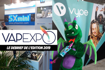 VAPEXPO: Debrief of the 2019 edition of the international e-cigarette fair in Paris Nord Villepinte.