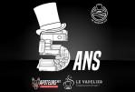 新闻稿:Le Vapelier和Vapoteurs.net庆祝成立5周年!