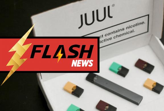 """США: Juul Labs объявляет об окончании продаж стручков """"Mint"""" для электронных сигарет"""