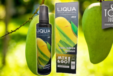REVIEW / TEST: Cool Green Mango (Mix and Go Range) van LIQUA