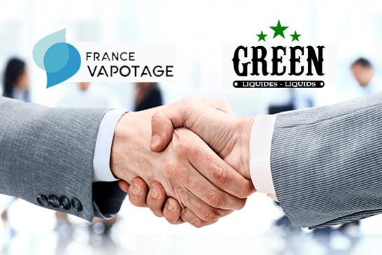 POLITIQUE : France Vapotage accueille Green Liquides dans sa fédération !