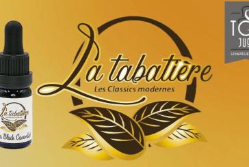 REVUE / TEST : Extra Black Cavendish (Gamme Concentré) par La Tabatière