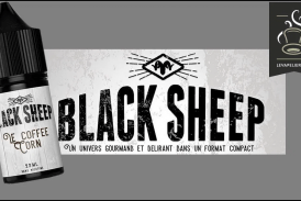 REVIEW / TEST: The Coffee Corn (Black Sheep Range) by Green Liquides