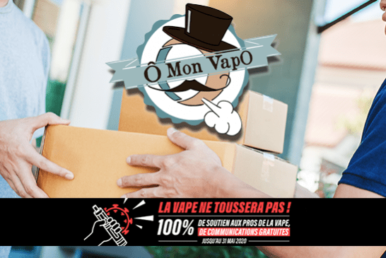 "COVID-19: The store ""Ô mon vapo"" at your service during the pandemic!"