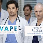 SOCIETE : La série « Grey's Anatomy » dénoncée au CSA pour un épisode « anti-vape »