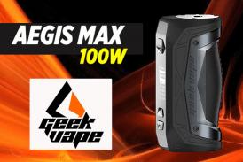 ΠΛΗΡΟΦΟΡΙΕΣ ΠΑΡΤΙΔΑΣ: Aegis Max 100W (Geekvape)