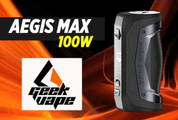 INFORMACIÓN DEL LOTE: Aegis Max 100W (Geekvape)