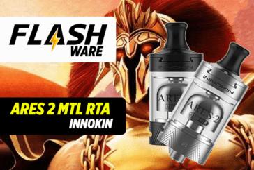 FLASHWARE : ARES-2 MTL RTA (Innokin)