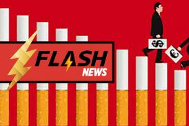 ECONOMIE : Un désengagement financier massif de l'industrie du tabac en France.