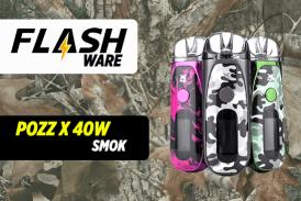 FLASHWARE: Pozz X 40W (Smok)