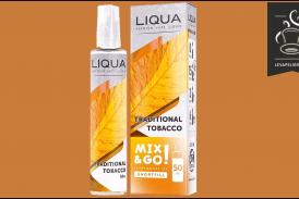 REVUE / TEST : Traditional Tobacco (Gamme Mix & Go) par Liqua