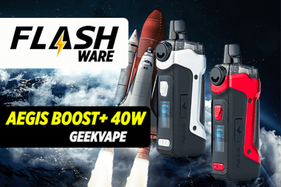 FLASHWARE: Aegis Boost Plus 40W (Geekvape)