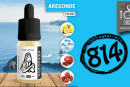 REVIEW / TEST: Aregonde (Fresh E-liquids Range) met 814