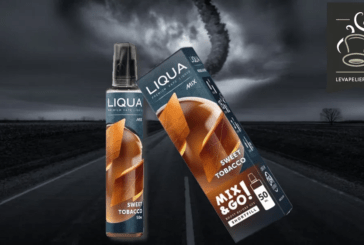 REVUE / TEST : Sweet Tobacco (Gamme Mix and Go) par Liqua