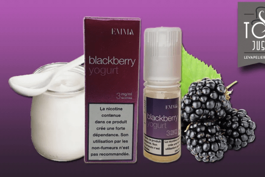 REVIEW / TEST: Blackberry Yogurt (EMMA Range) by Eliquide-diy