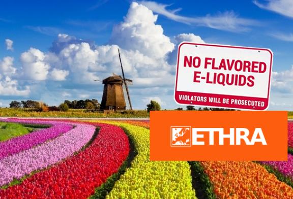 NIEDERLANDE: Auf dem Weg zu einem Verbot von Aromen zum Dampfen? ETHRA startet einen Gegenangriff!