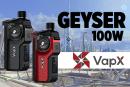 INFORMAZIONI SUL LOTTO: Geyser 100W (Vapx)