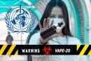 SANTÉ : L'e-cigarette, nouvelle frontière de l'épidémie de tabagisme selon l'OMS