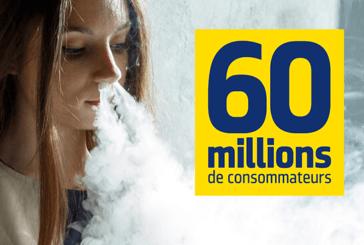SOCIÉTÉ : Avec le vent, 60 millions de consommateurs tourne sa veste concernant le vapotage !