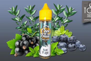 REVUE / TEST : Blue Flash (Gamme Cool n'Fruit) par Alfaliquid