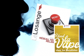"CULTURE: Le Losange, magazine for tobacconists ""thoroughly on the vape"" in the first issue of the year."