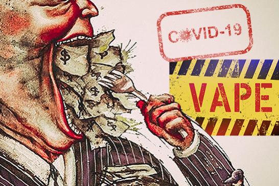 ЗДОРОВЬЕ: Вейп и пандемия, когда большая фармацевтика отдает приоритет либерализму!