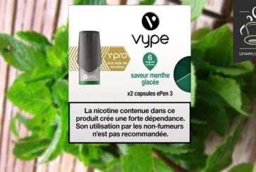 REVUE / TEST : Menthe Glacée par Vype