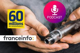 """GEZONDHEID: De """"Vrai du False"""" van vapen in een podcast op France Info"""