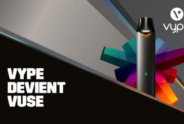 Nouveau design et mises à jour, Vype évolue et devient Vuse !