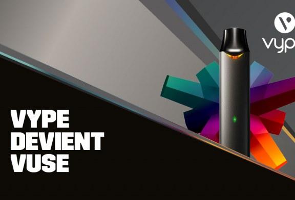 Νέα σχεδίαση και ενημερώσεις, το Vype εξελίσσεται και γίνεται Vuse!