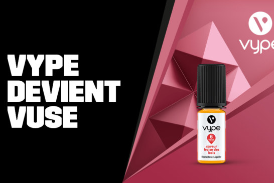 Vype становится Vuse, смена названия, дизайна и оптимизированных вкусов!