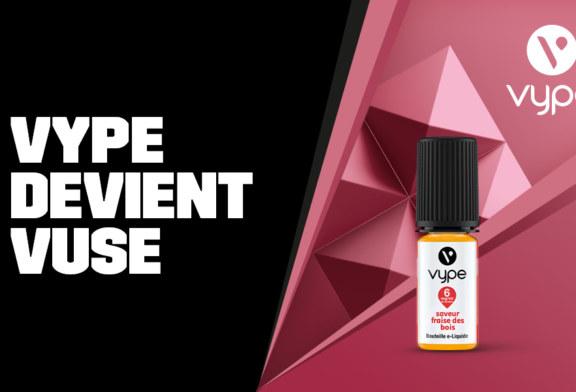 Vype devient Vuse, un changement de nom, de design et des saveurs optimisées !