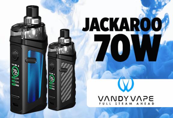 批次信息:Jackaroo 70W(Vandy Vape)