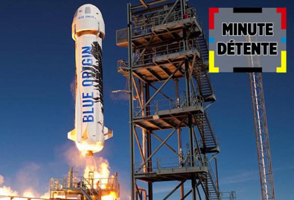 MINUTO DI RELAX: Blue Origin, i primi turisti spaziali in arrivo?