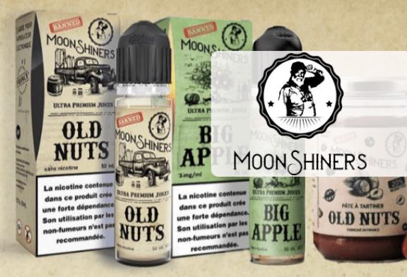 TALK E-JUICE: Moonshiners, von amerikanischer Herkunft bis zu 100% französischen Gourmet-Angeboten