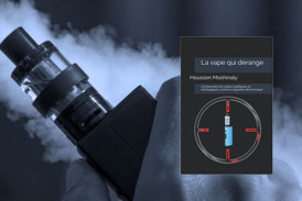 """CULTUUR: """"De verontrustende damp"""", een nieuw boek over de oorlog tegen e-sigaretten"""