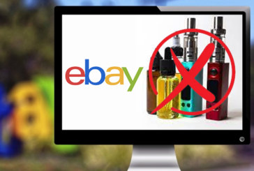 RIGHT: From June 9, 2021, vaping will no longer have its place on the Ebay platform!