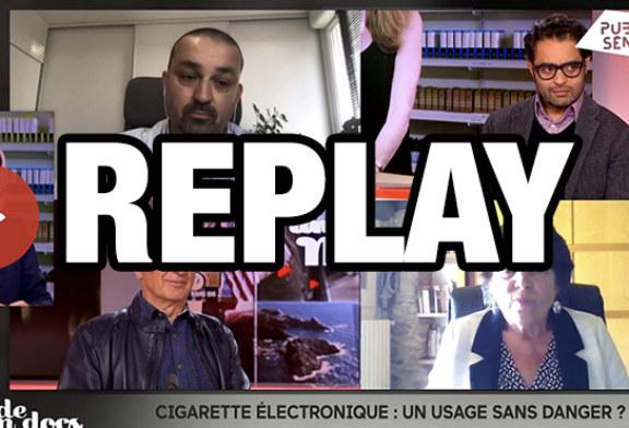 """ПОЛИТИКА: Электронная сигарета лежит в основе программы """"Un monde en docs"""" в Общественном Сенате."""