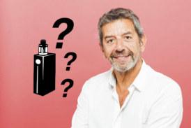 GESUNDHEIT: Die E-Zigarette ist für Michel Cymes kein zuverlässiger Ersatz für das Rauchen?